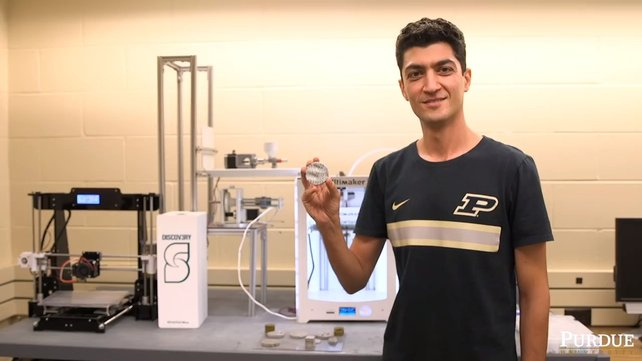 Featured image of Researchers Develop Technique That Makes 3D Printed Cement Stronger Under Pressure