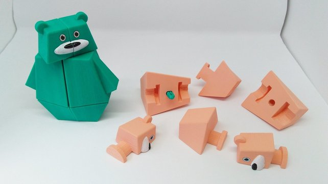 Featured image of 3D Printed Puzzle: 15 Mind-Boggling Models to 3D Print