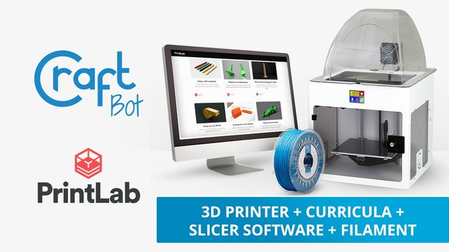 Featured image of CraftUnique and PrintLab Bring 3D Printing Education to Students