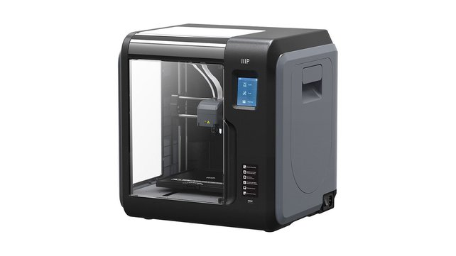 Featured image of 2019 Monoprice MP Voxel 3D Printer – Review the Specs