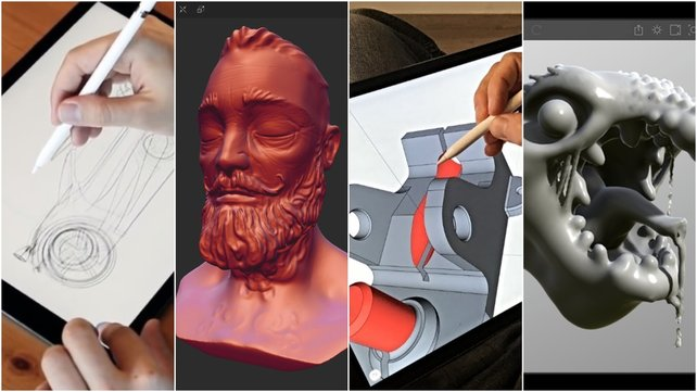 Featured image of 2019 Best 3D Design Apps for 3D Modeling with iPad & Android