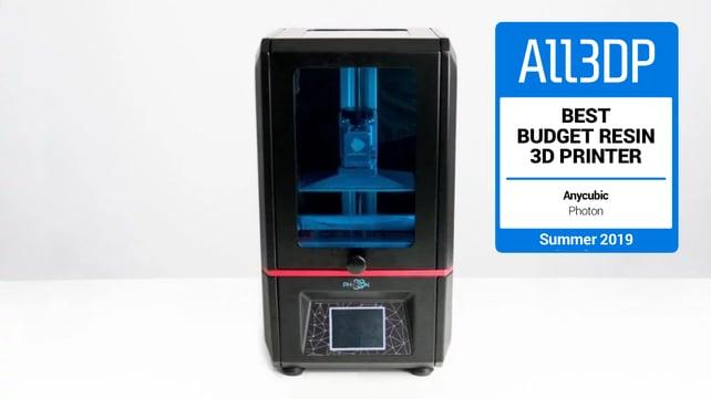 Imagen principal de Anycubic Photon: una gran impresora 3D de resina barata
