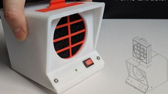 Featured image of [Project] Clear the Air with a Minimalist 3D Printed Fume Extractor