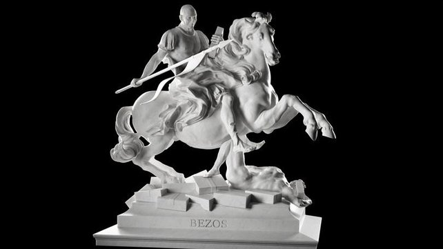 Featured image of Sebastian Errazuriz 3D Prints Silicon Valley Moguls as Mythological Characters