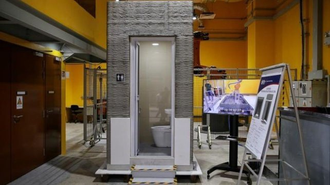 Featured image of When Nature Calls: The World's First 3D Printed Bathroom