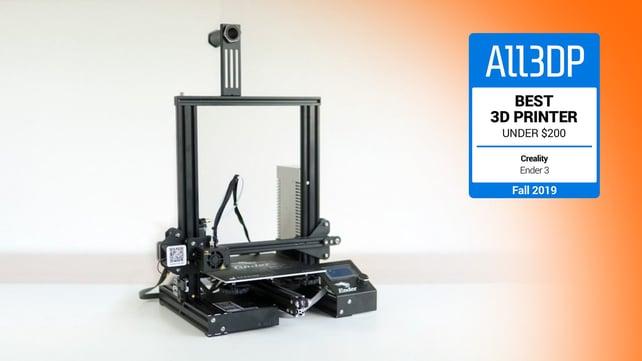 Imagem de destaque Creality Ender 3: a impressora 3D de melhor valor de 2019
