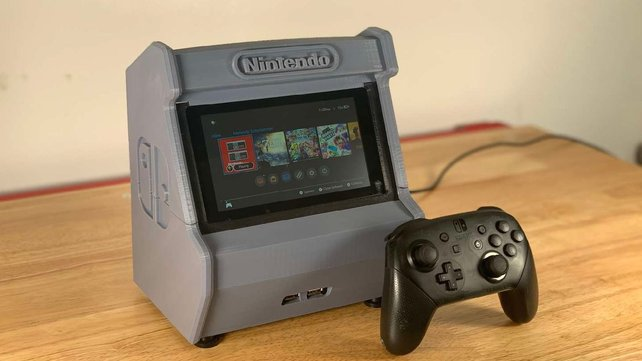 Featured image of [Project] 3D Print Your Own Nintendo Switch Arcade Cabinet