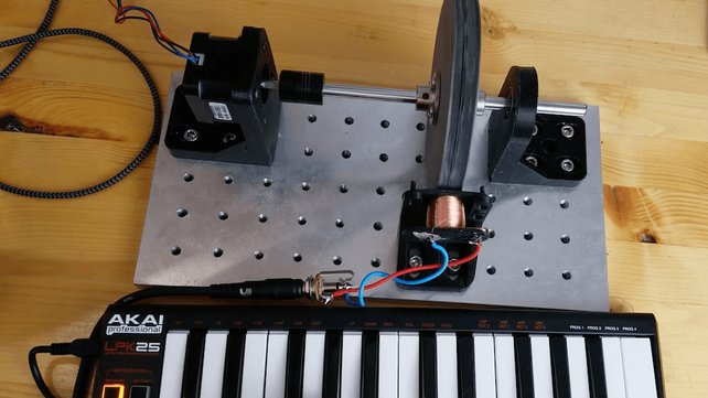 Featured image of Making Music With a 3D Printed Tonewheel