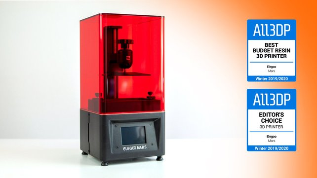 Featured image of Elegoo Mars Review: Great Budget Resin 3D Printer