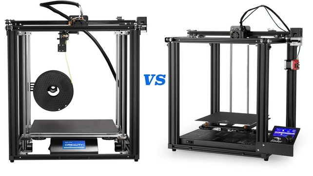 Featured image of Ender 5 vs Ender 5 Pro & Plus: The Differences