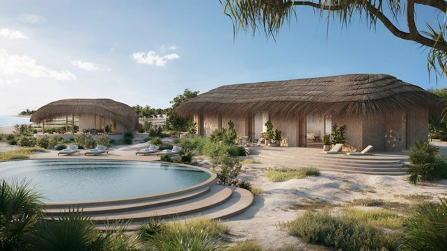Featured image of Luxury Resort In Mozambique Will Be 3D Printed With Sand