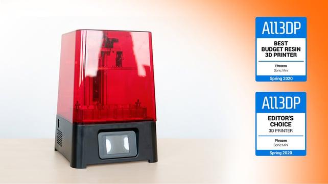 Image de l'en-tête de Phrozen Sonic Mini: meilleure imprimante 3D résine petit budget