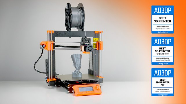 Featured image of Original Prusa i3 MK3S Test: Der beste 3D-Drucker 2020