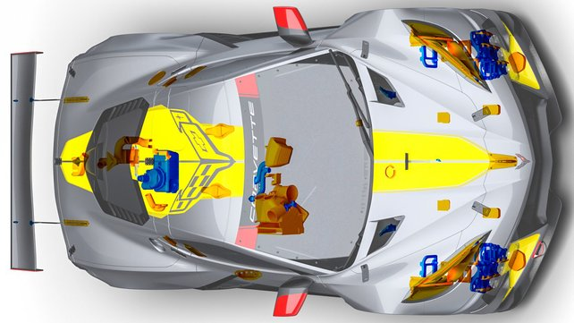 Featured image of Chevy Race Cars Feature 3D Parts, Production Cars Next, Automaker Says
