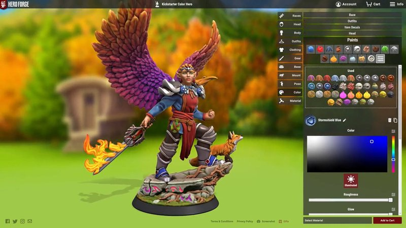 Featured image of Hero Forge Raises $1.7 Million to 3D Print Full-Color Custom Miniatures