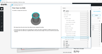 The Cura Settings Guide plugin explains each print setting in detail.