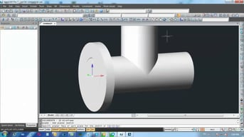 3D modeling in nanoCAD.