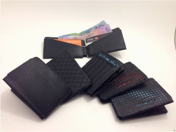 A chic collection of assorted wallets.