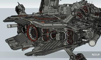 Highly-detailed SketchUp modeling.