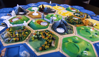 Settlers of Catan has never been so cool.