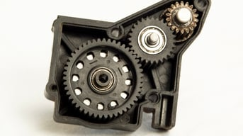 A hard-working spur gearbox.