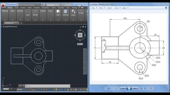 AutoCAD is great for 2D but lacks a few key 3D modeling features.