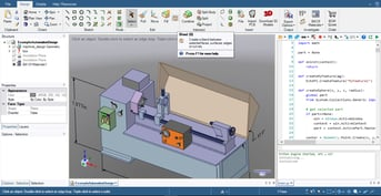 DesignSpark Mechanical uses explicit modeling.