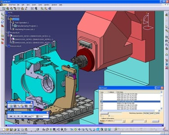 Catia is a high-end program with advanced modeling and simulation capabilities.