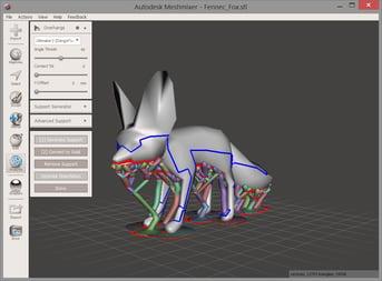 Meshmixer is a potent 3D model editing tool.