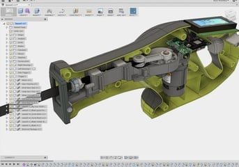 Fusion 360 is capable of producing complex models with multiple assemblies.