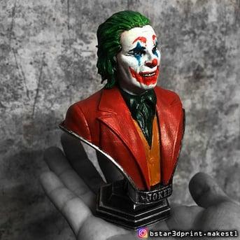 2019's Joker shown in full color.