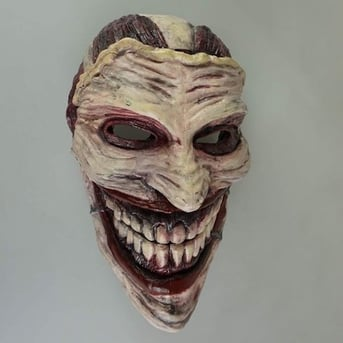 This is what the Joker looks like with his face peeled off.