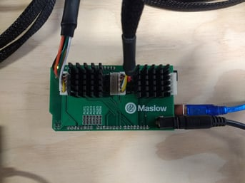 The shield and Arduino for the Malsow.