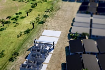 A 3D printed community is to be built in Latin America this year.