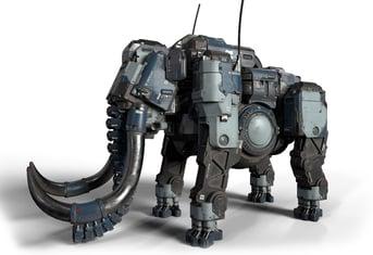 Mechatronic elephants? Why not?