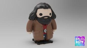 A unique model of Hagrid.