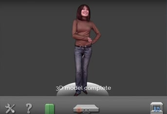 Live scan with Artec 3D's Shapify