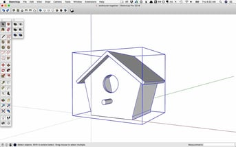 SketchUp's user interface
