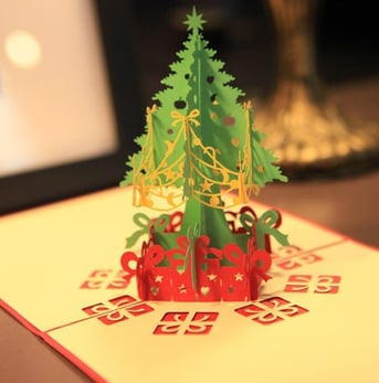 What better way to wish someone happy holidays than sending them a festive pine?