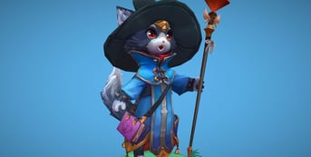 A Wizard Cat model