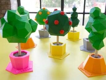 Some creative tree sculptures