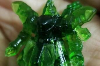 This make of the Gundam Sazabi was made on an Anycubic Photon