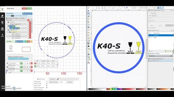 LaserWeb4 is a free laser cutting software program that communicates your design to the laser