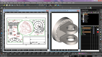 TurboCAD is a laser cutting software that lets you copy designs with ease