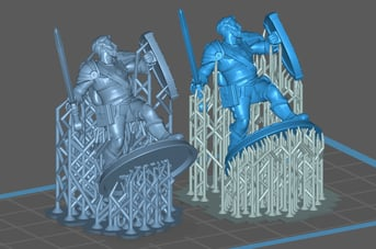Adding custom tree supports for resin printing in PrusaSlicer