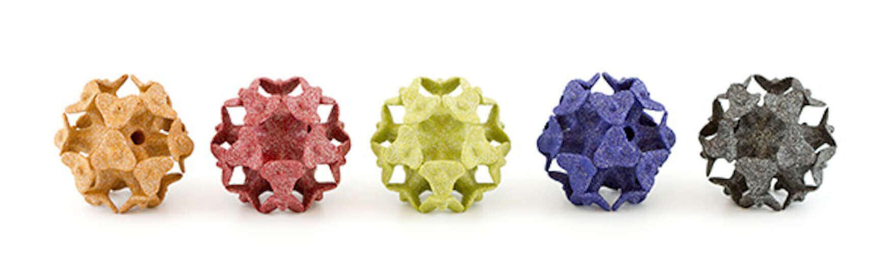 Dyed Alumide imaterialise