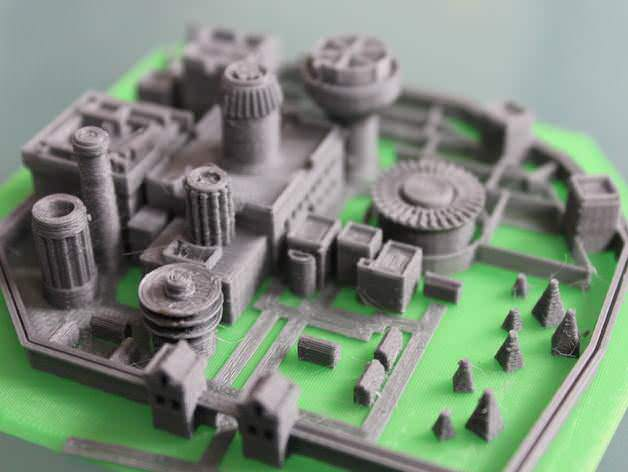 Image of Game of Thrones 3D Models to 3D Print: Model of Winterfell