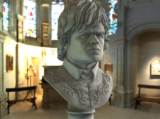 Image of Game of Thrones 3D Models to 3D Print: Tyrion Lannister Bust