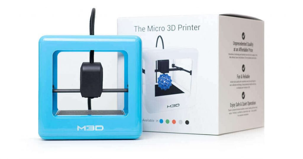 The Micro by M3D was launched to raving reviews at prices between $350 and $450 (image: M3D)