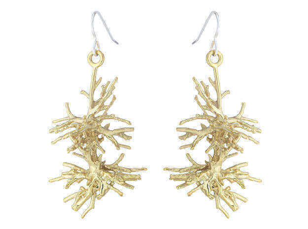 These gorgeous earrings are made by UK artist William Stanley (image: williamstanley.net)